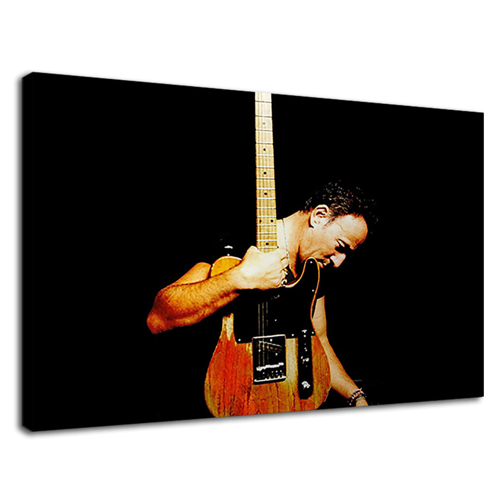 Bruce Springsteen With Guitar For Bed Room