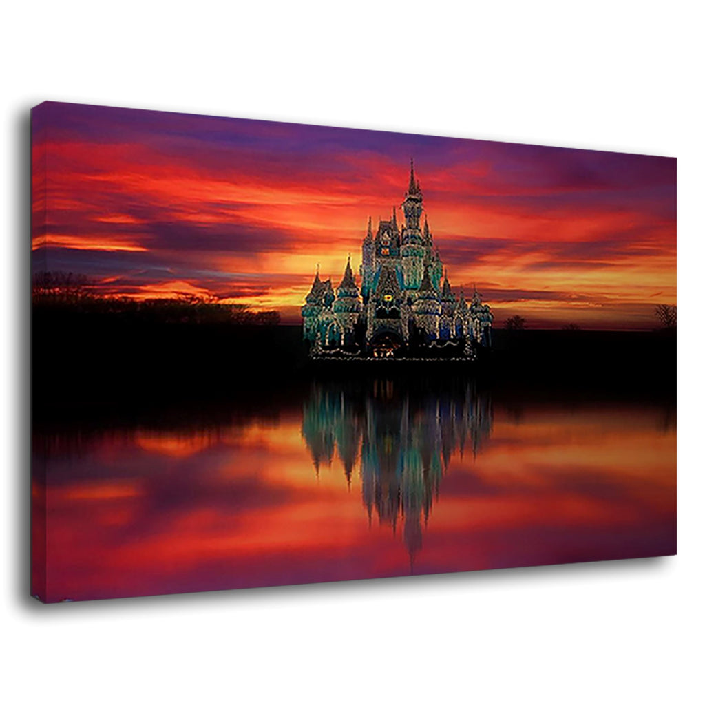 Royal Palace Lake And Reflection Vibrant Sky Smart