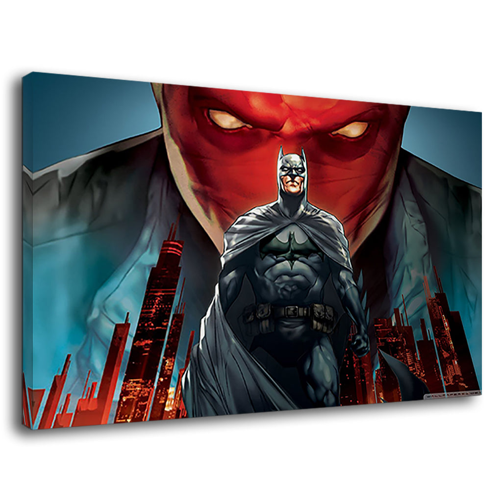 Batman Under The Red Hood Comic Movie Poster Dc