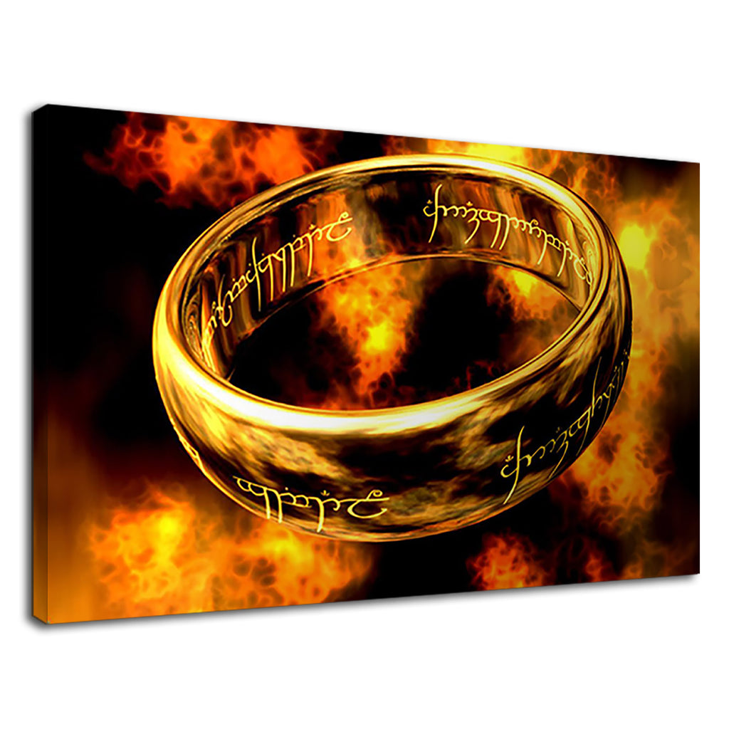 Lord Of The Rings Lotr Movie One Ring Tolkein