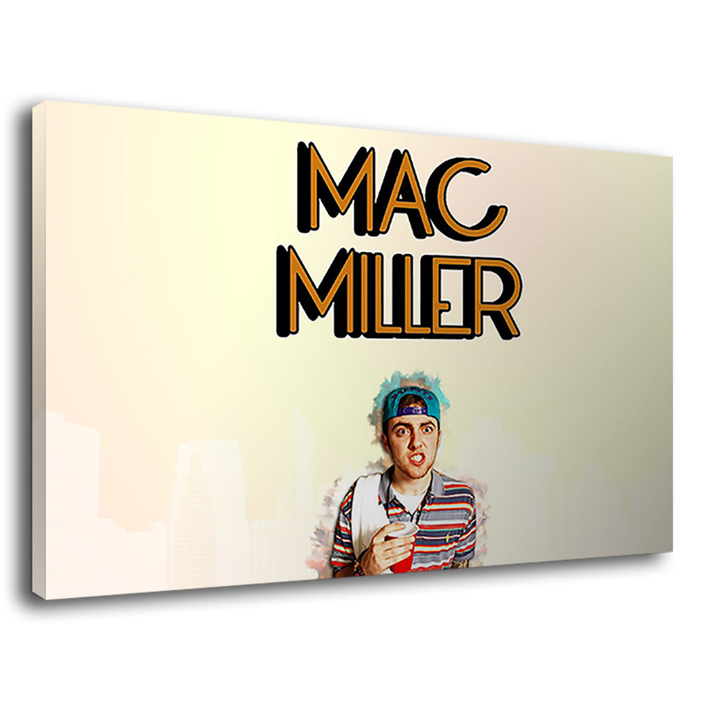 Mac Miller Musician Retro Old School Poster