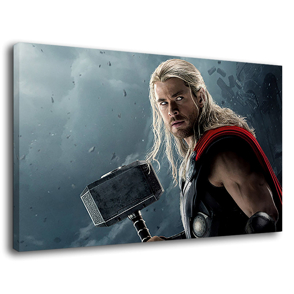 Thor Hammer Chris Hemsworth Marvel Dc Comic Hero
