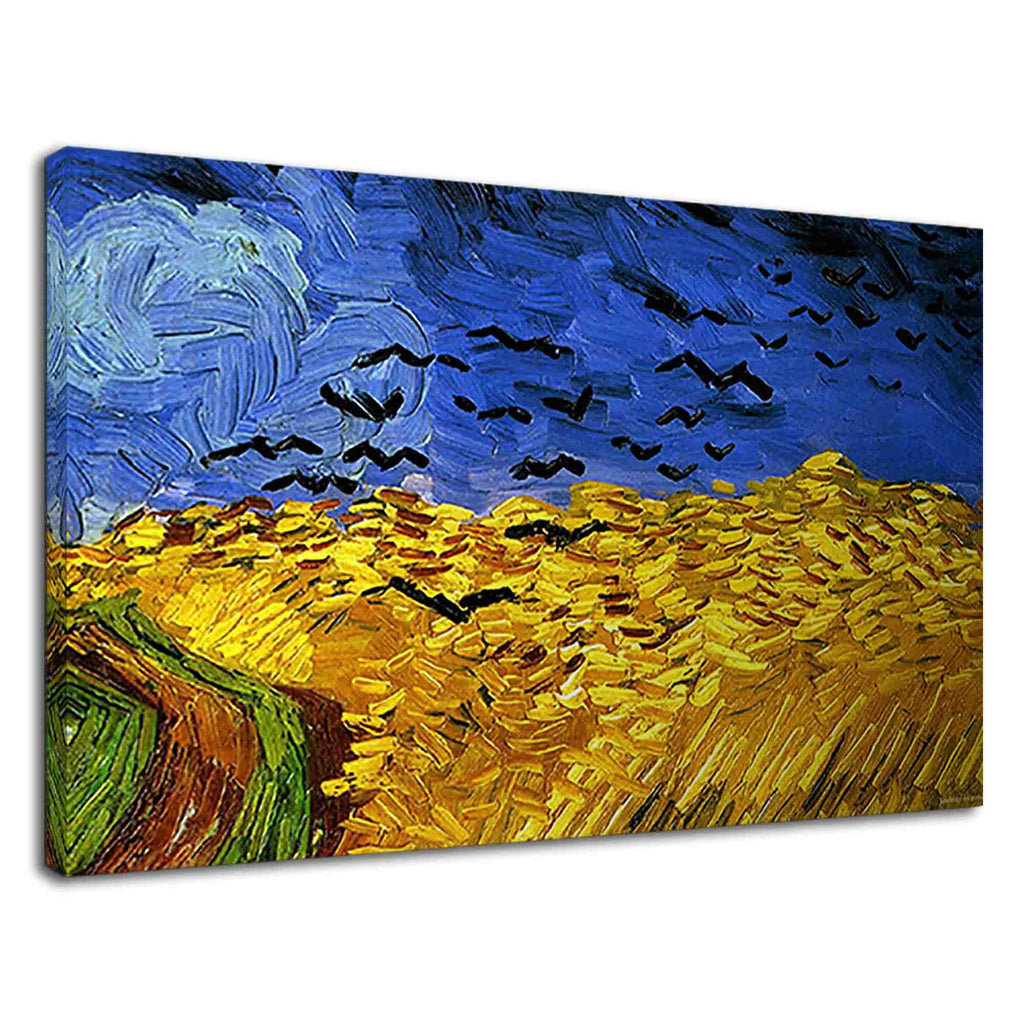 Van gogh wheatfield with crows for drawing room
