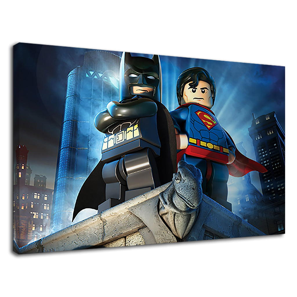 Lego Art Of Super Hero's Superman & Bat Man