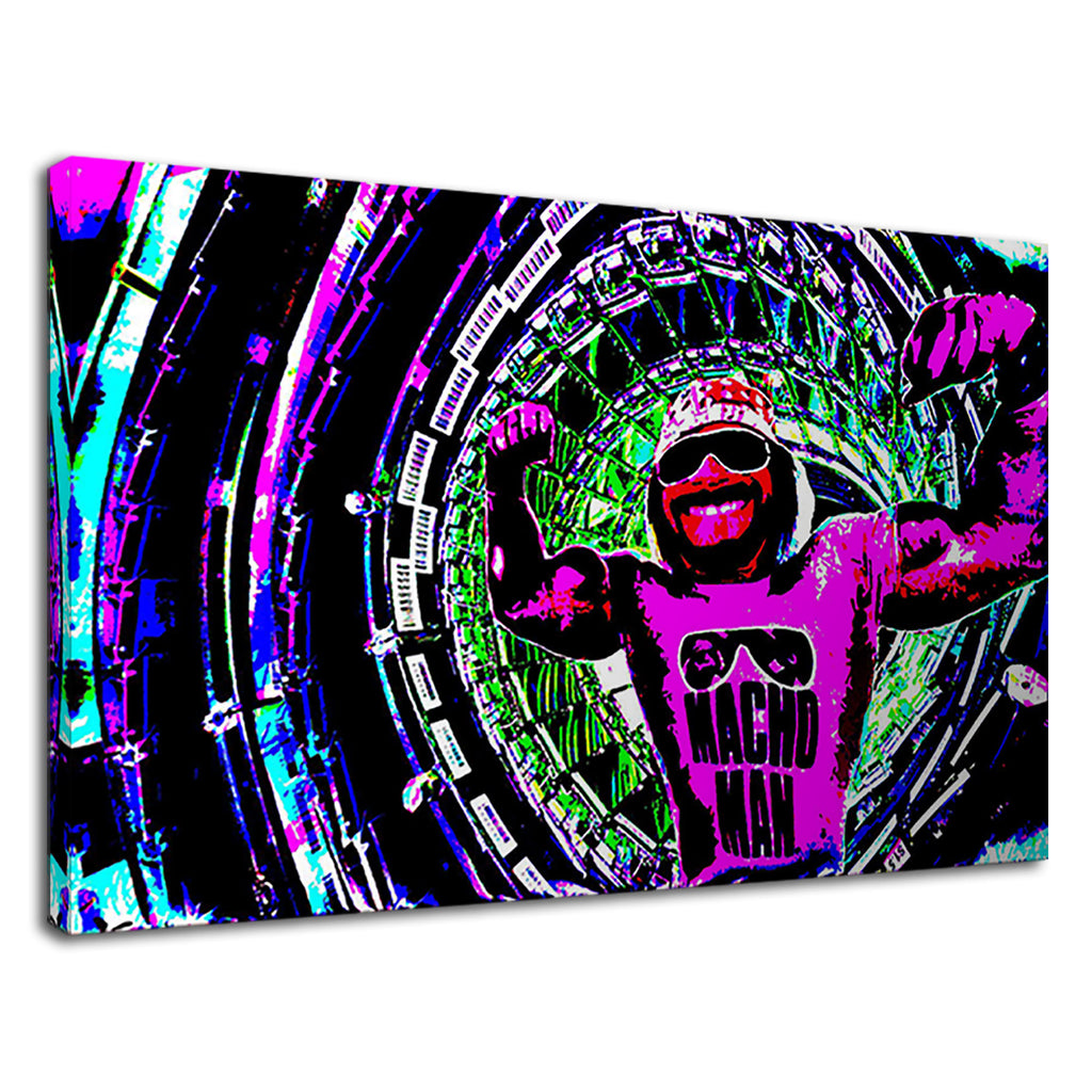 Randy Savage Macho Man Pop Art For Boys Bedroom