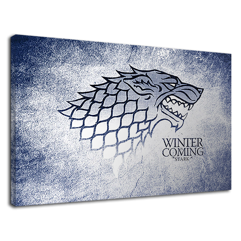 Winter Coming Stark Wolf Grunge Game Of Thrones