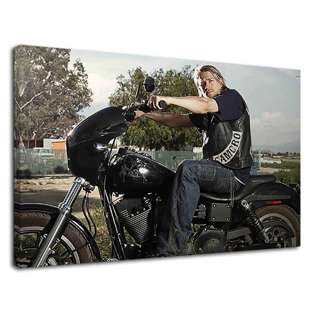 Sexy Jax Teller On A Sons Of Anarchy Bike