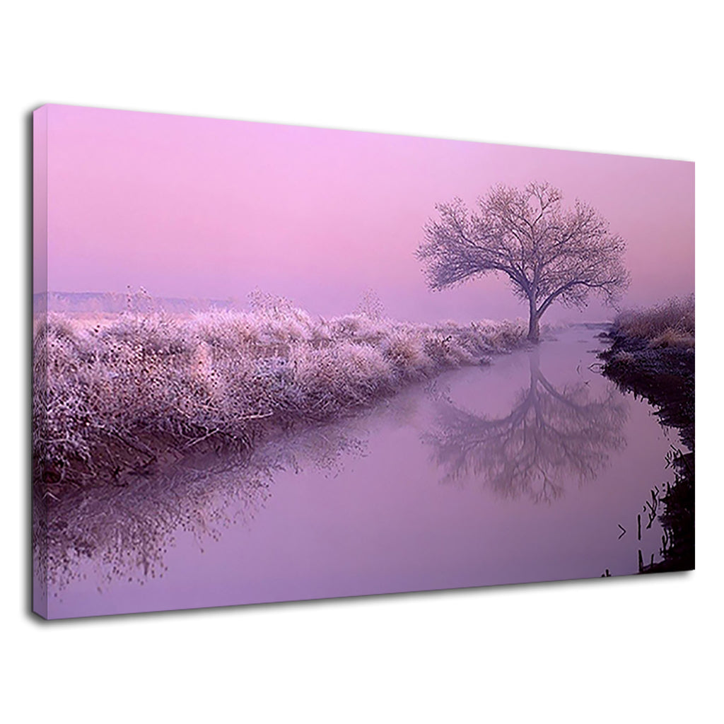 Pink Landscape Dreamy Aesthetic  Winter Picture