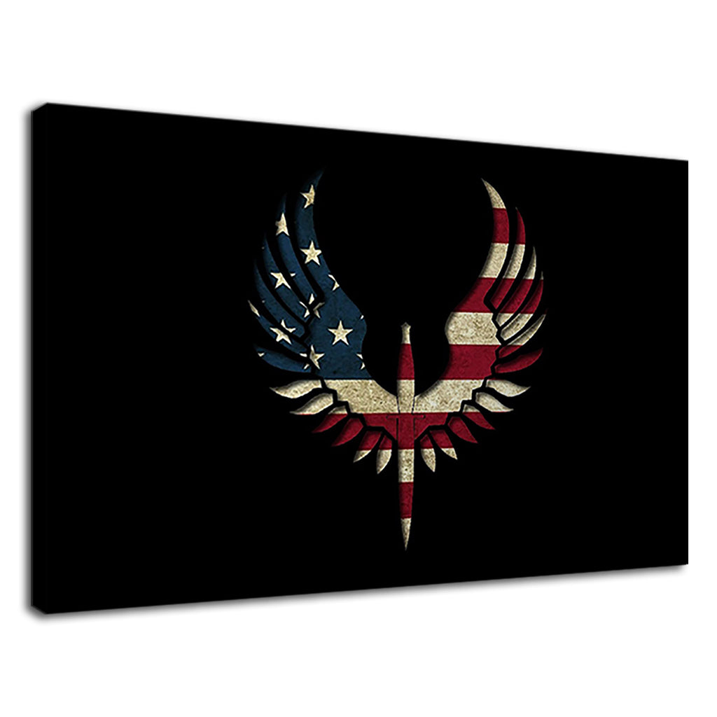 American Eagle Stars And Stripes Flag Of The Usa