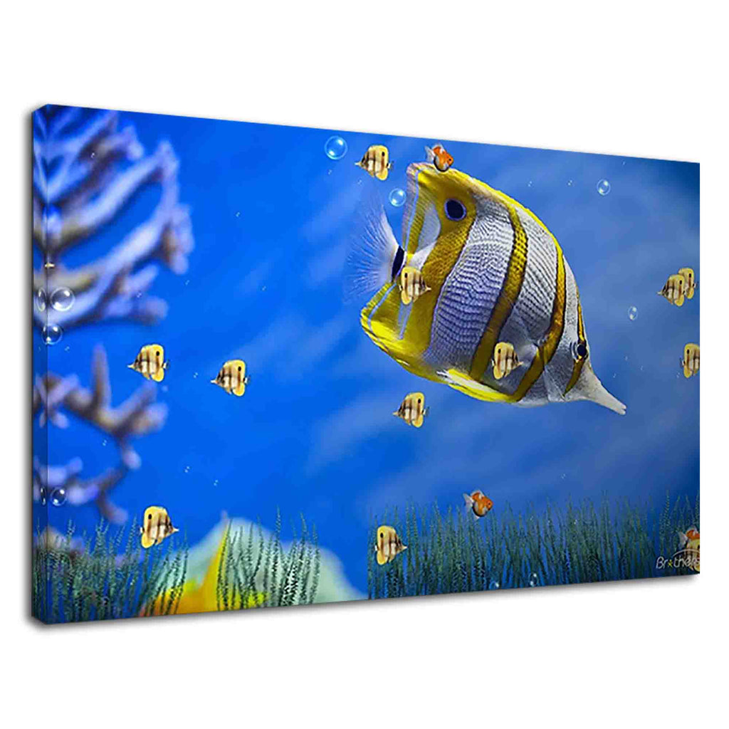 Beautiful butterfly sea fish for living room