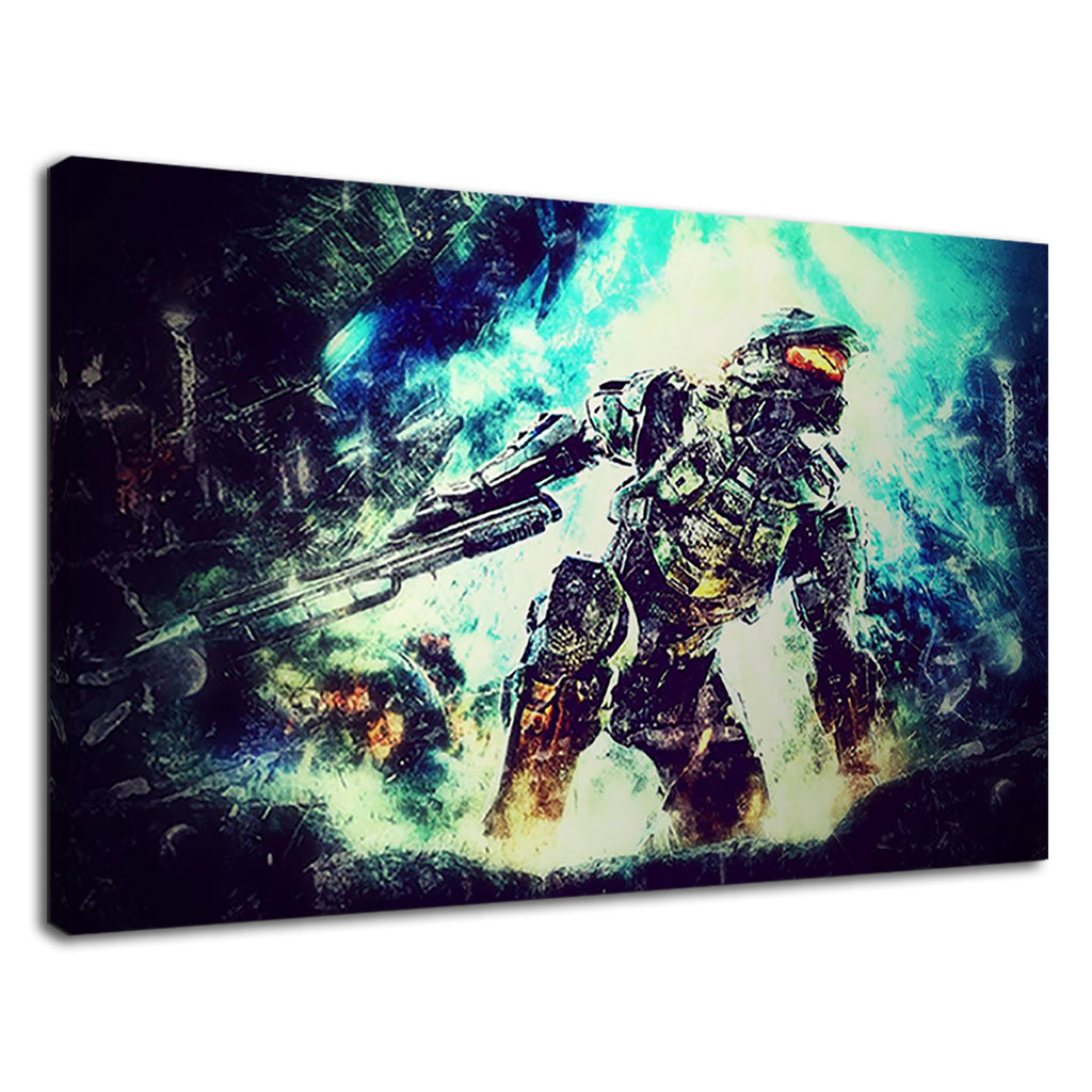 Epic Gaming Halo Xbox Gamer Soldier Master Chief