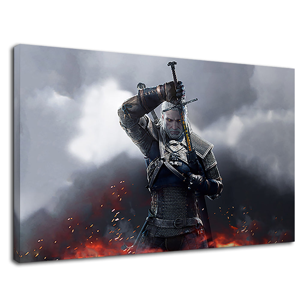 The Witcher 3 Wild Hunt Gamers Bedroom Pc Game