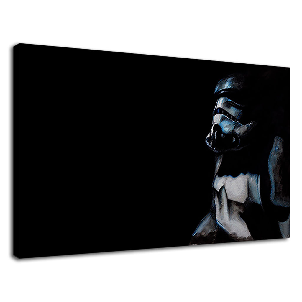 Shadow Trooper Pop Art Blue Grey & Dark Black