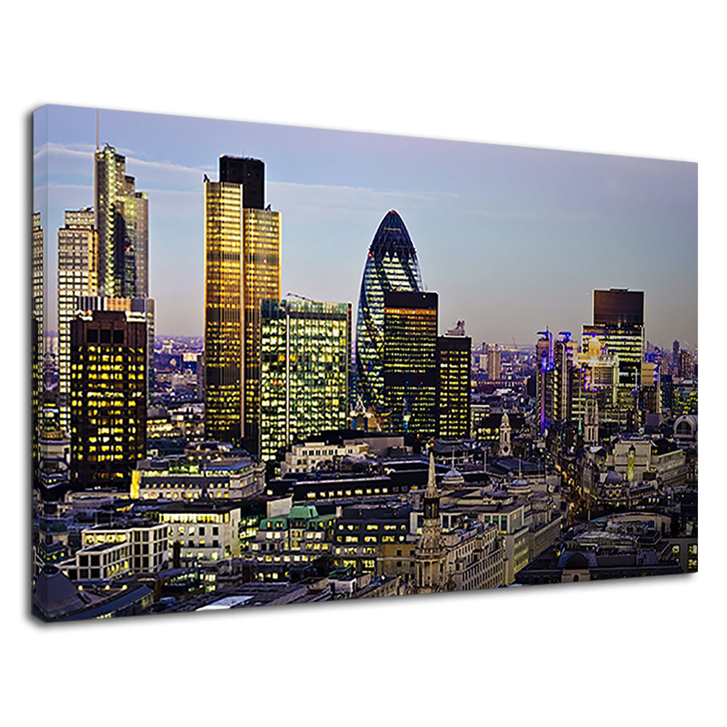 Central London City Of London Skyline The Gherkin