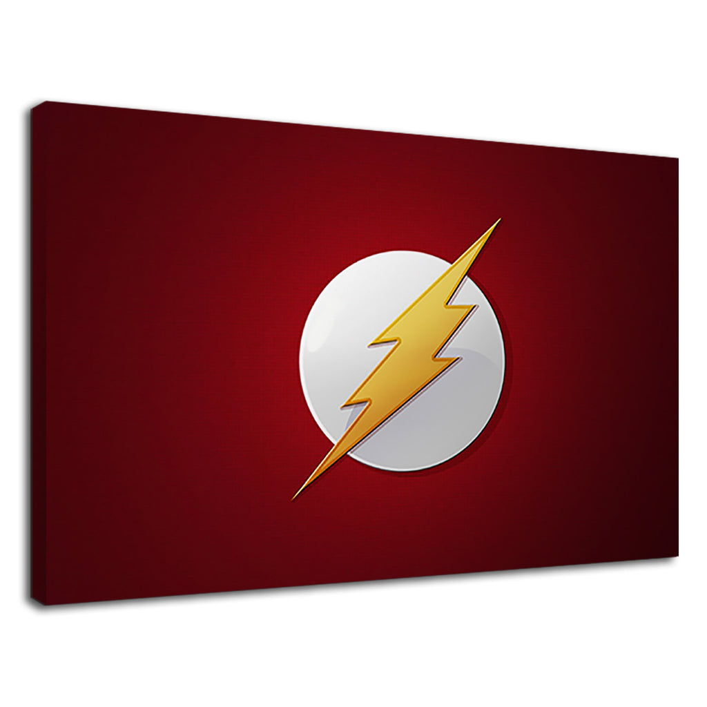 The Flash Badge Logo Red Kids Justice League