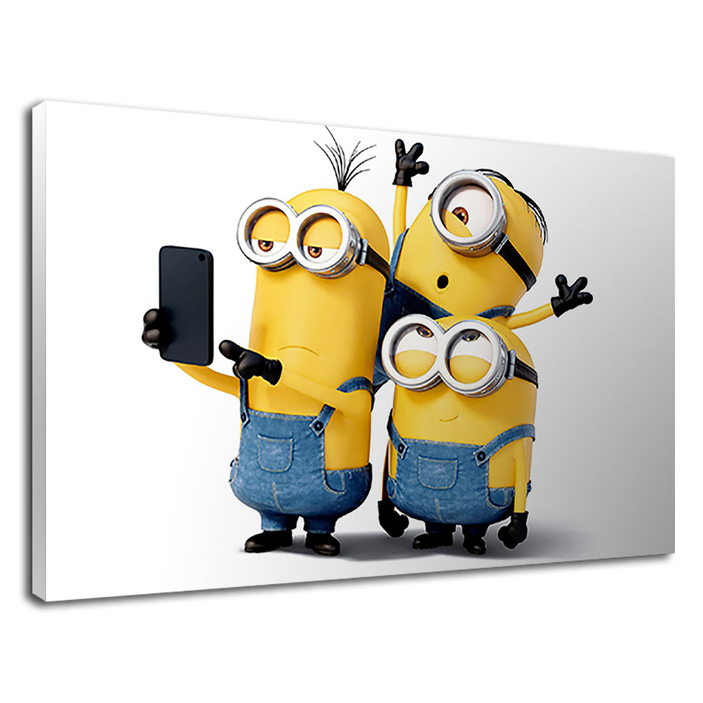 Despicable Me Minions Selfie Kids Nursery Funny
