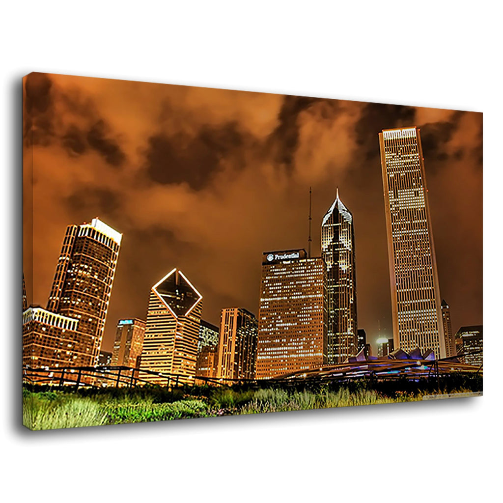 Famous Places City Skyline Modern Construction