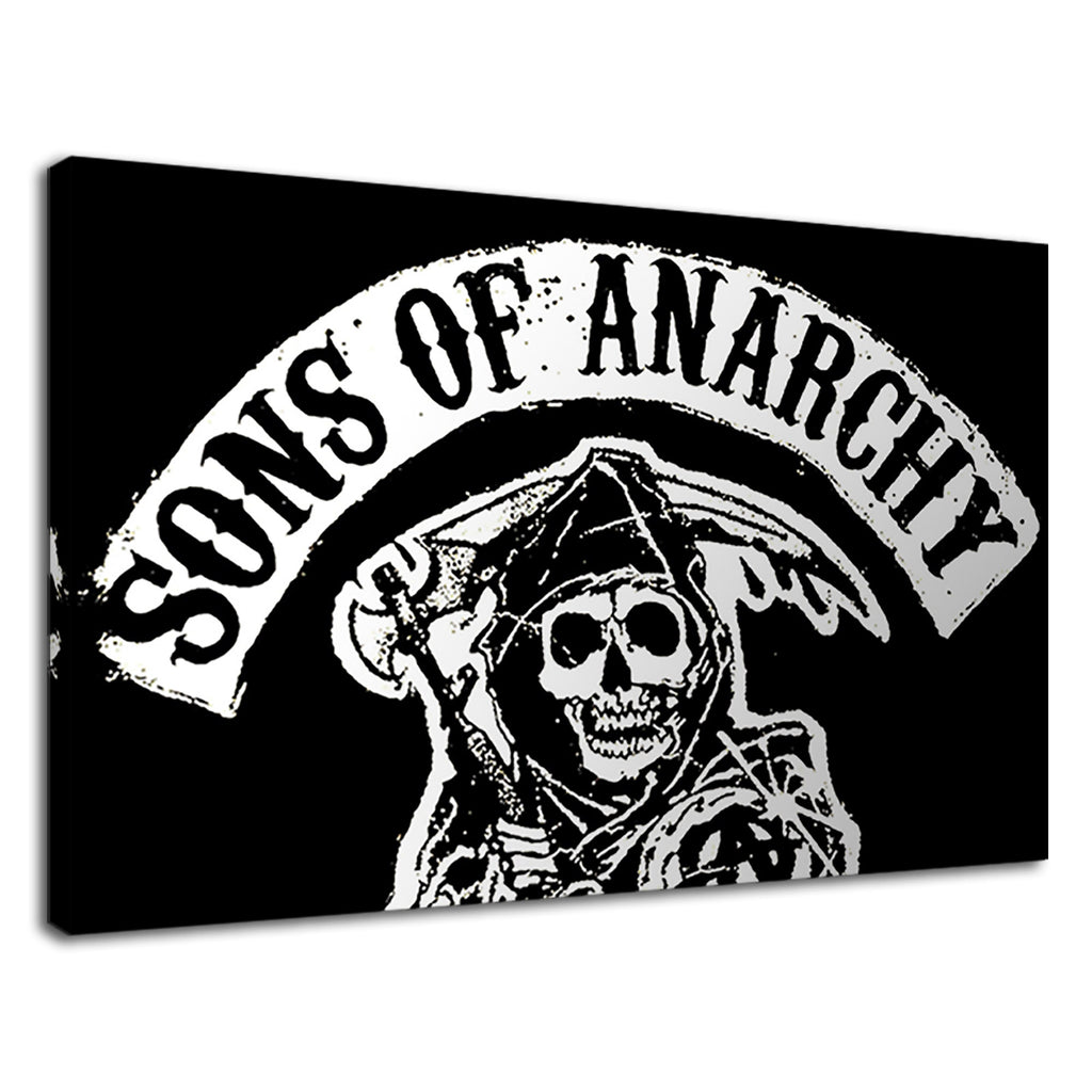 Sons Of Anarchy Redwood Netflix Reaper Logo