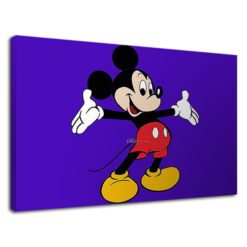 Walt Disney Mickey Mouse Blue Childens Cartoon