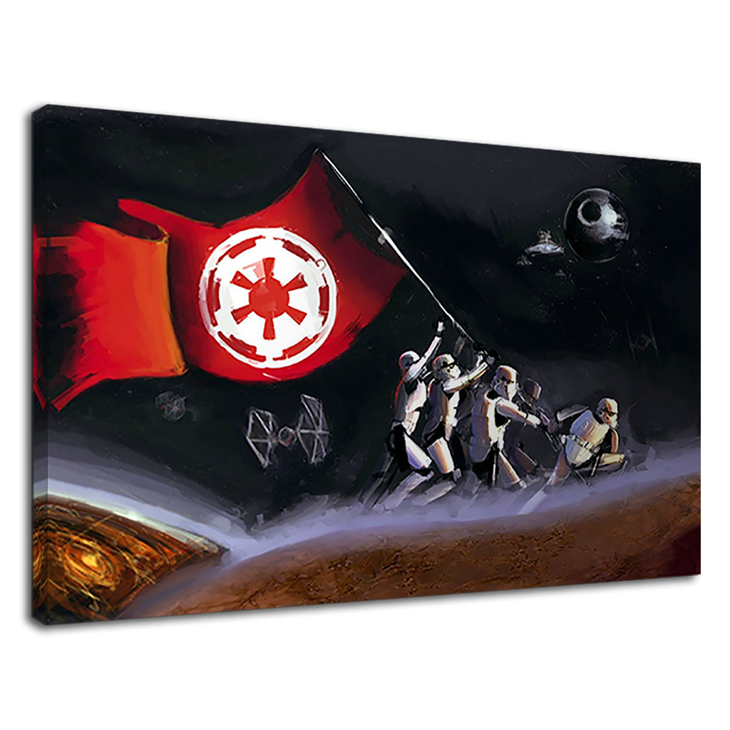 Epic Star Wars Galactic Empire Flag Stormtrooper