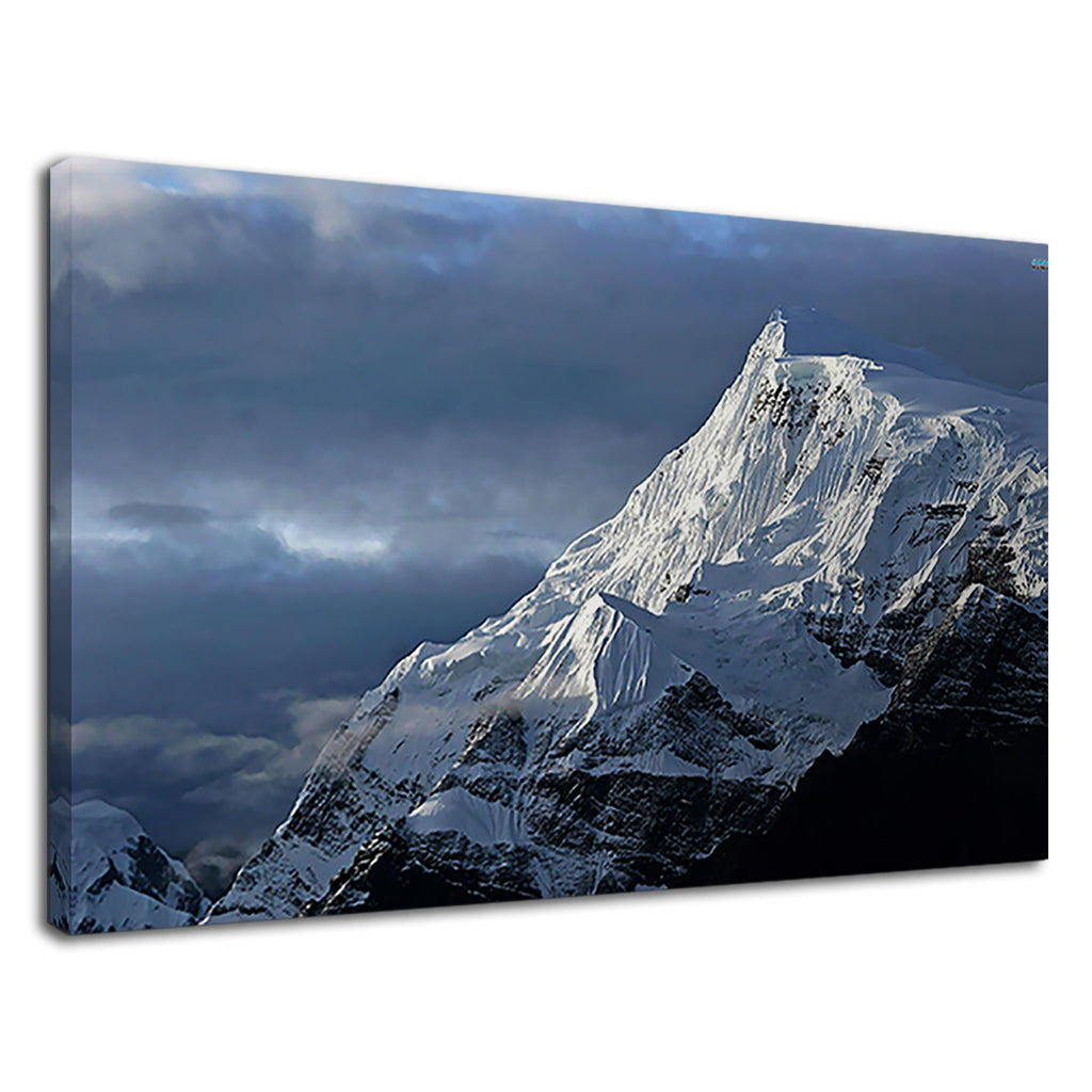 Snowy Mountain Peak Beautiful Earth Landscape
