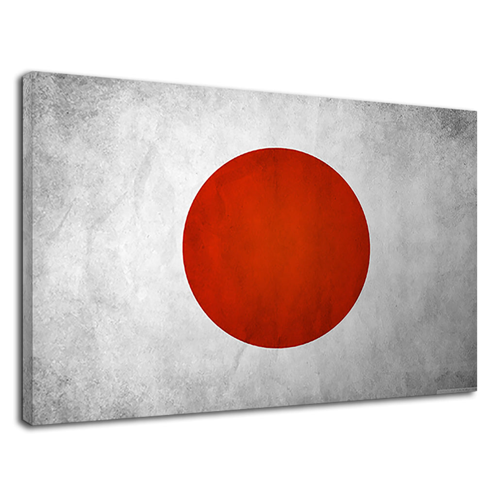 Japanese Flag Red Spot Japan National Art