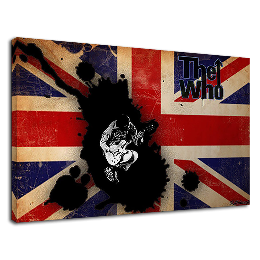 The Who British Band Union Jack Fan