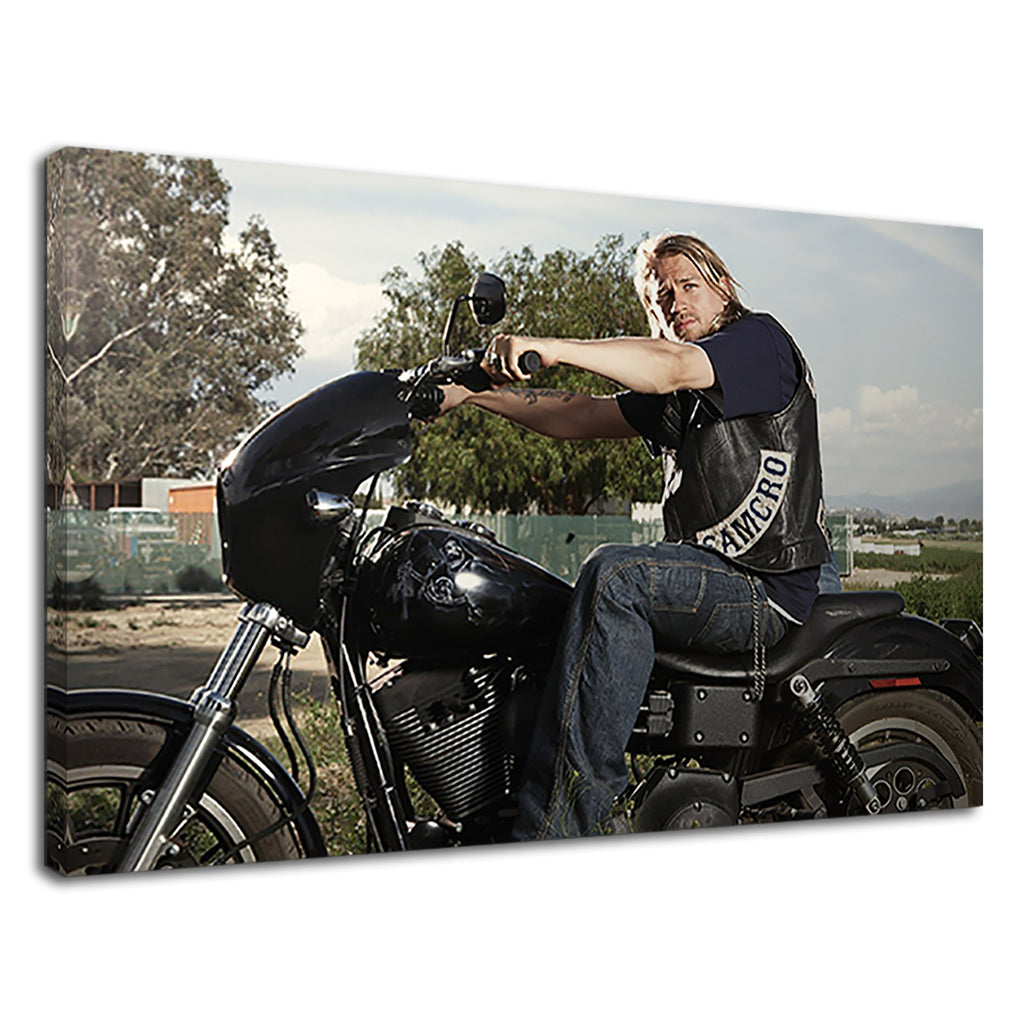 Sons Of Anarchy Jax On Motorcycle For Boys Bedroom