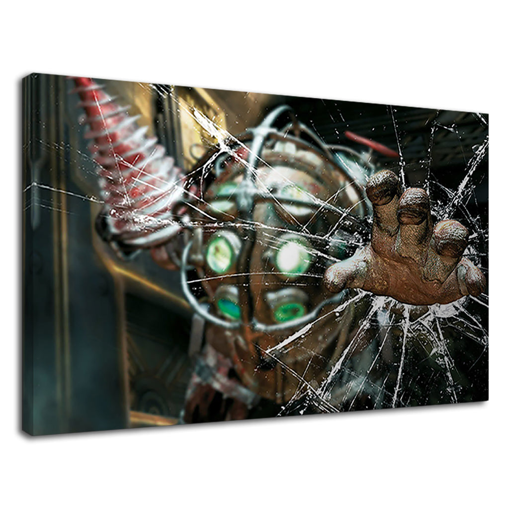 Big Daddy Broken Glass Bioshock For Boys Bedroom