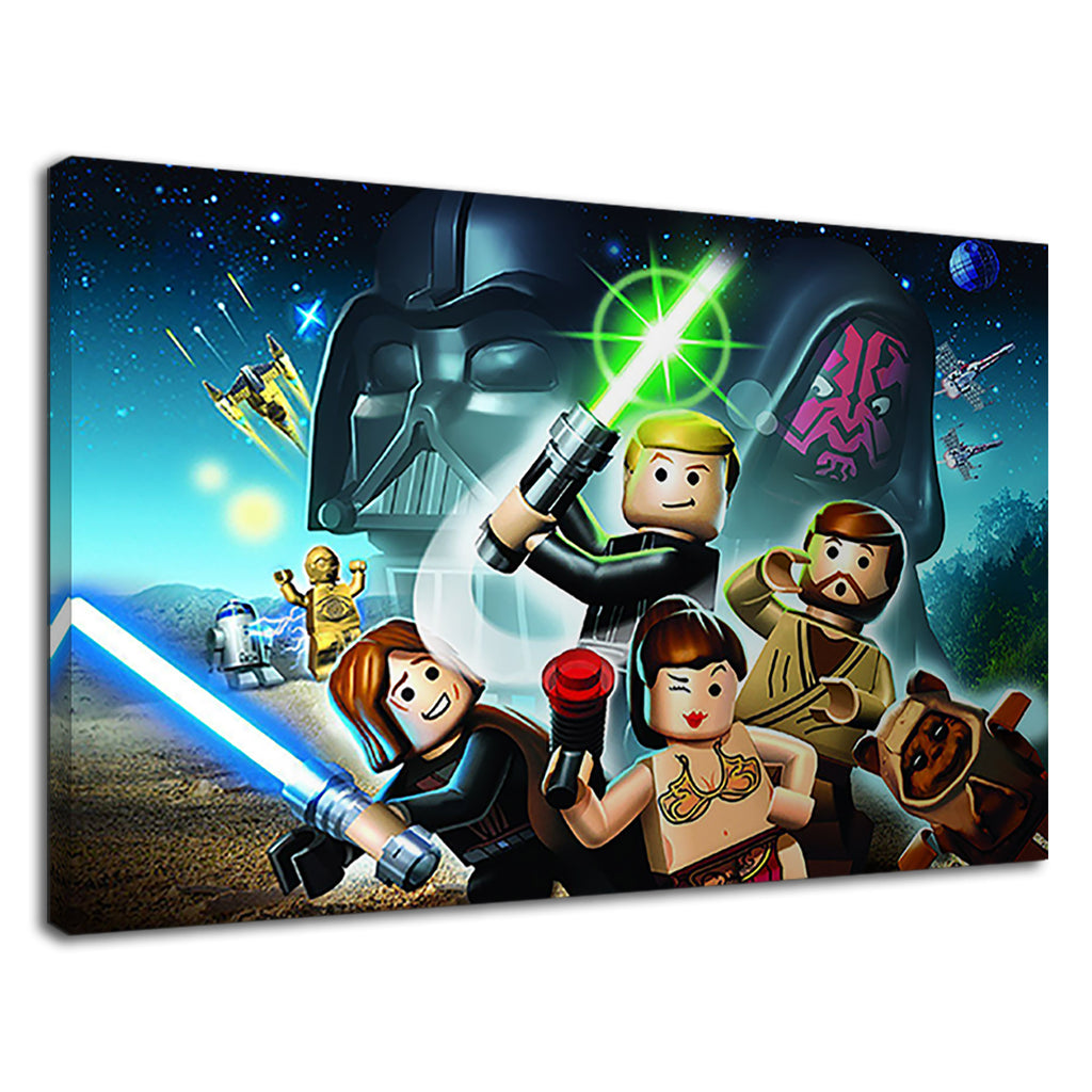 Lego Star Wars Digital Artwork For Kids Bedroom