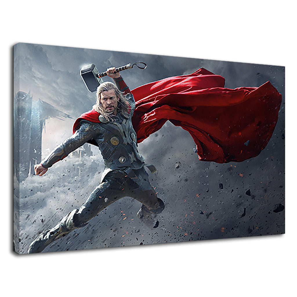 Superhero Thor With Hammer For Boys Bedroom