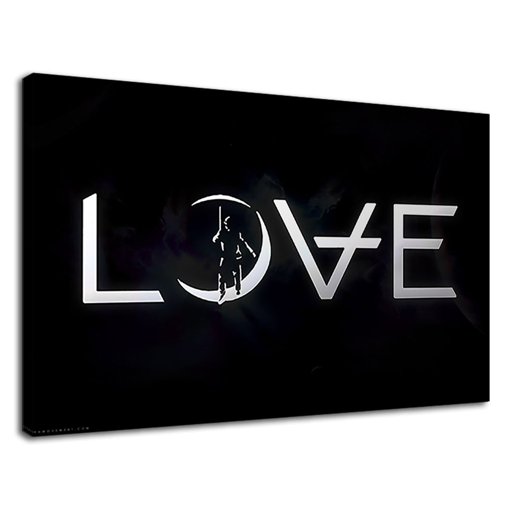 Love Digital Illustration For Bedroom
