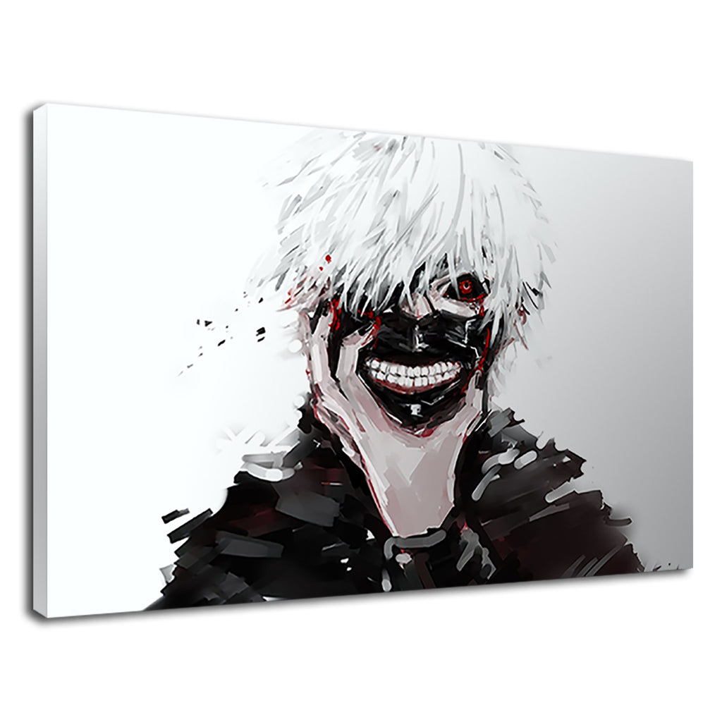 Kaneki Ken Digital Illustration For Boys Bedroom