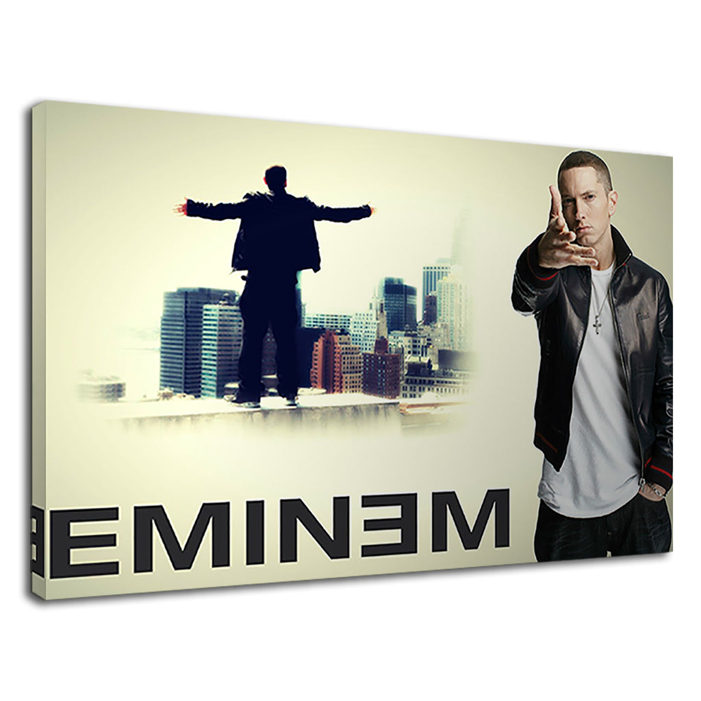 Eminem The King Of Rap From Top Of The Building