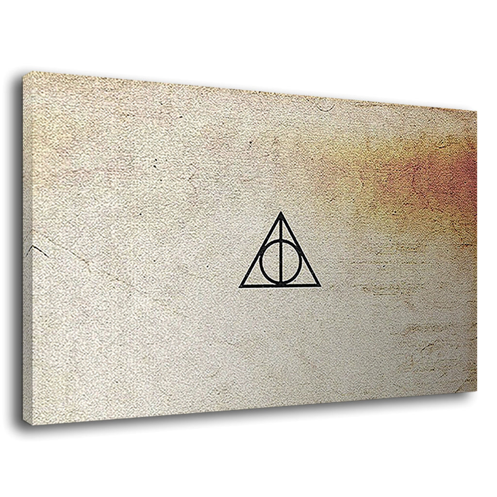 Deathly Hallows Parchment Harry Potter Book