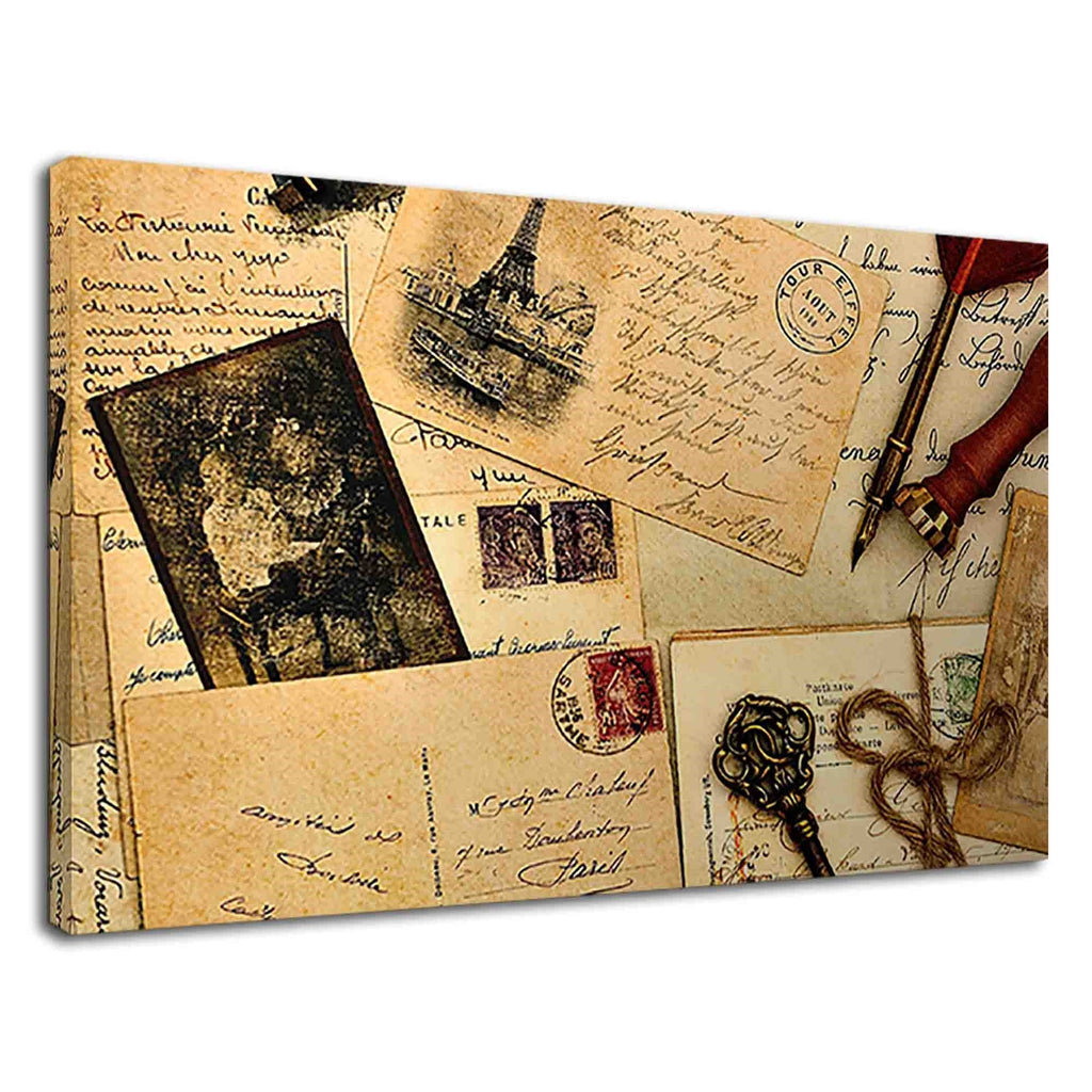 Old Letters Vintage Postcards The Book Of Memories