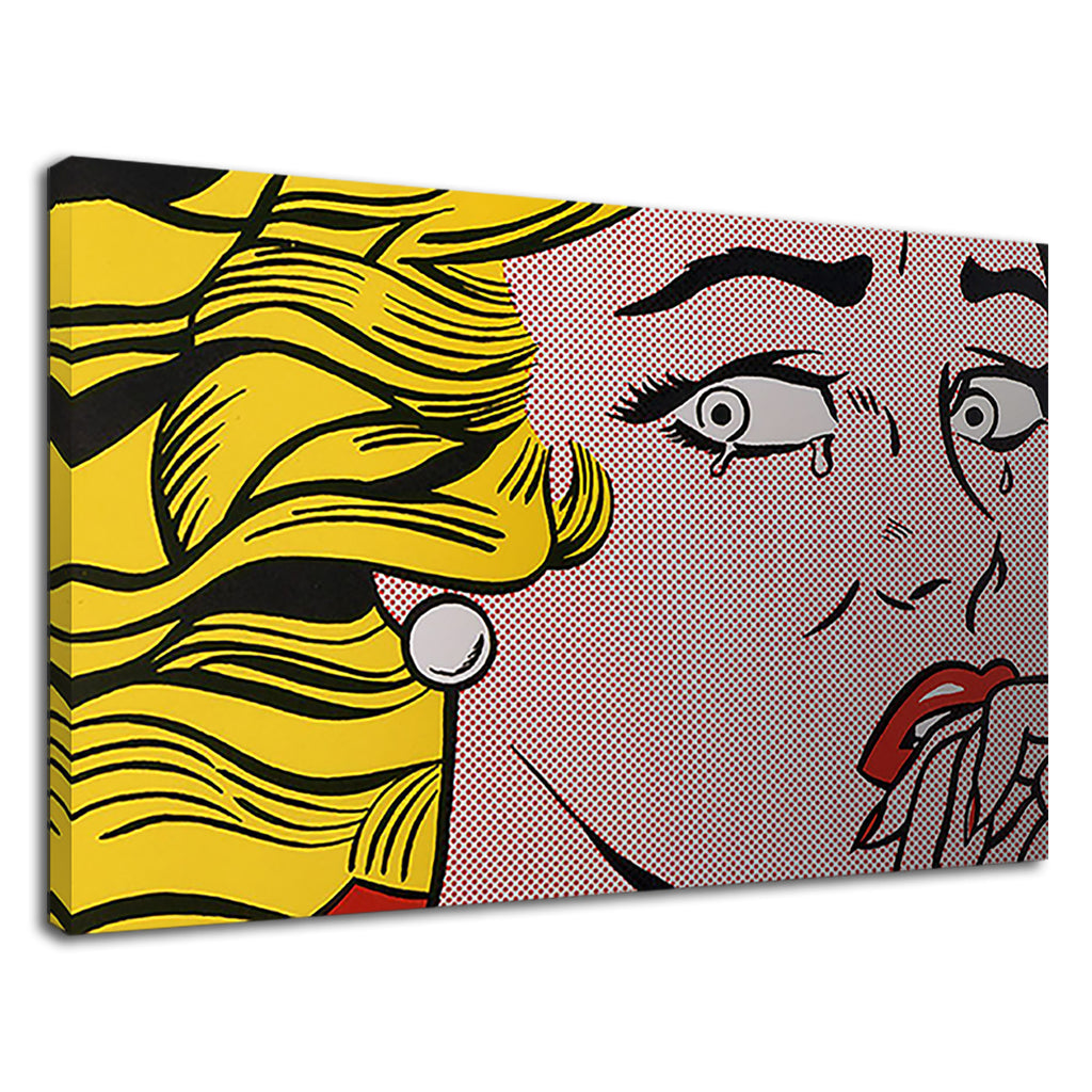 Andy Warhol Classic Modern Pop Art Crying Woman