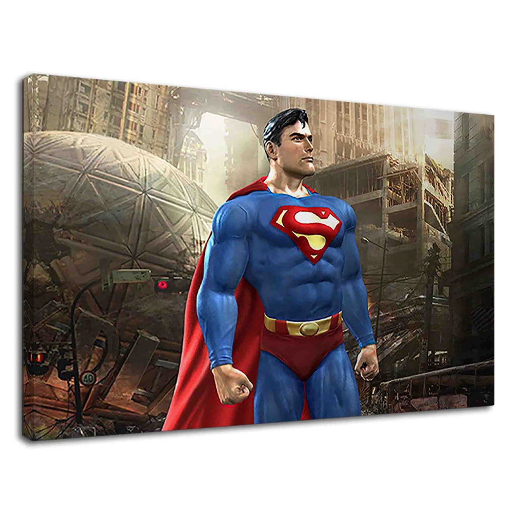 Superman The Man Of Steel Digital Illustration