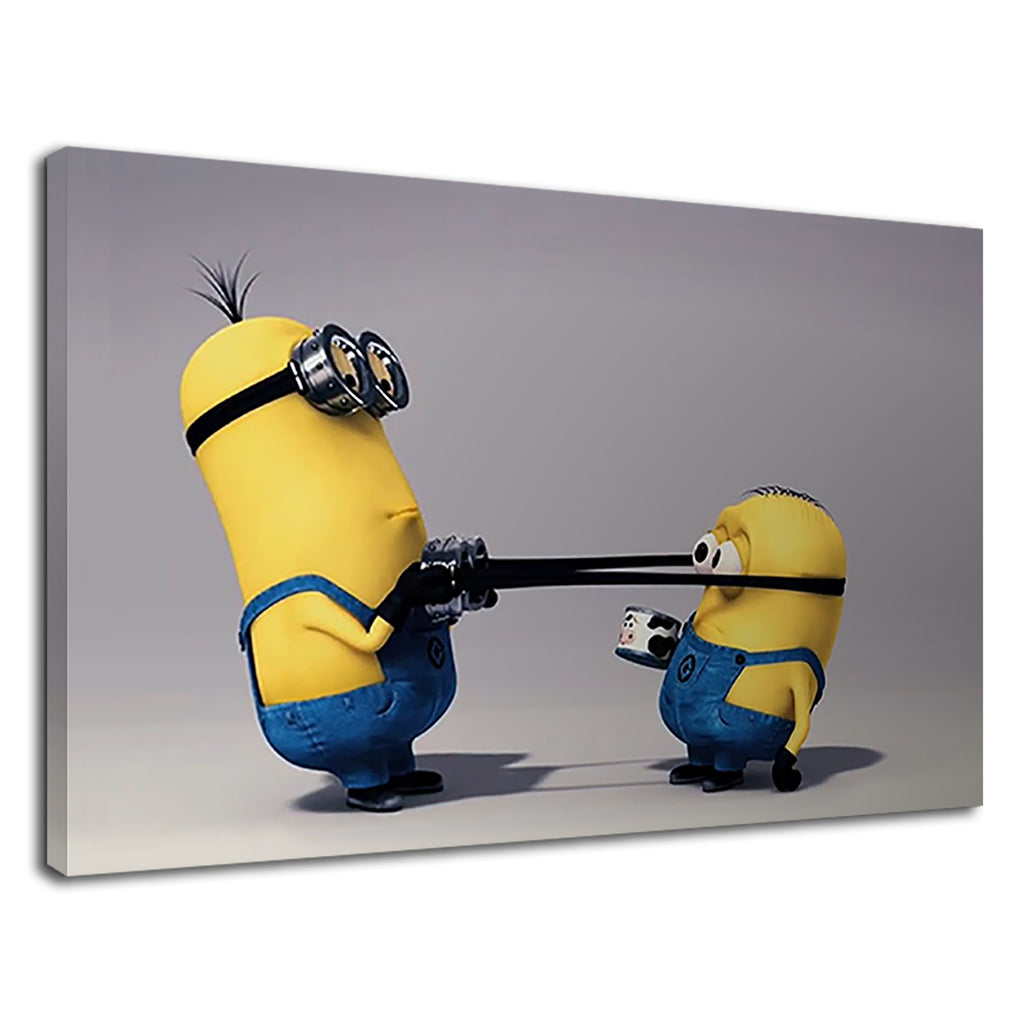 Minions Funny Cartoon For Children's Bedroom