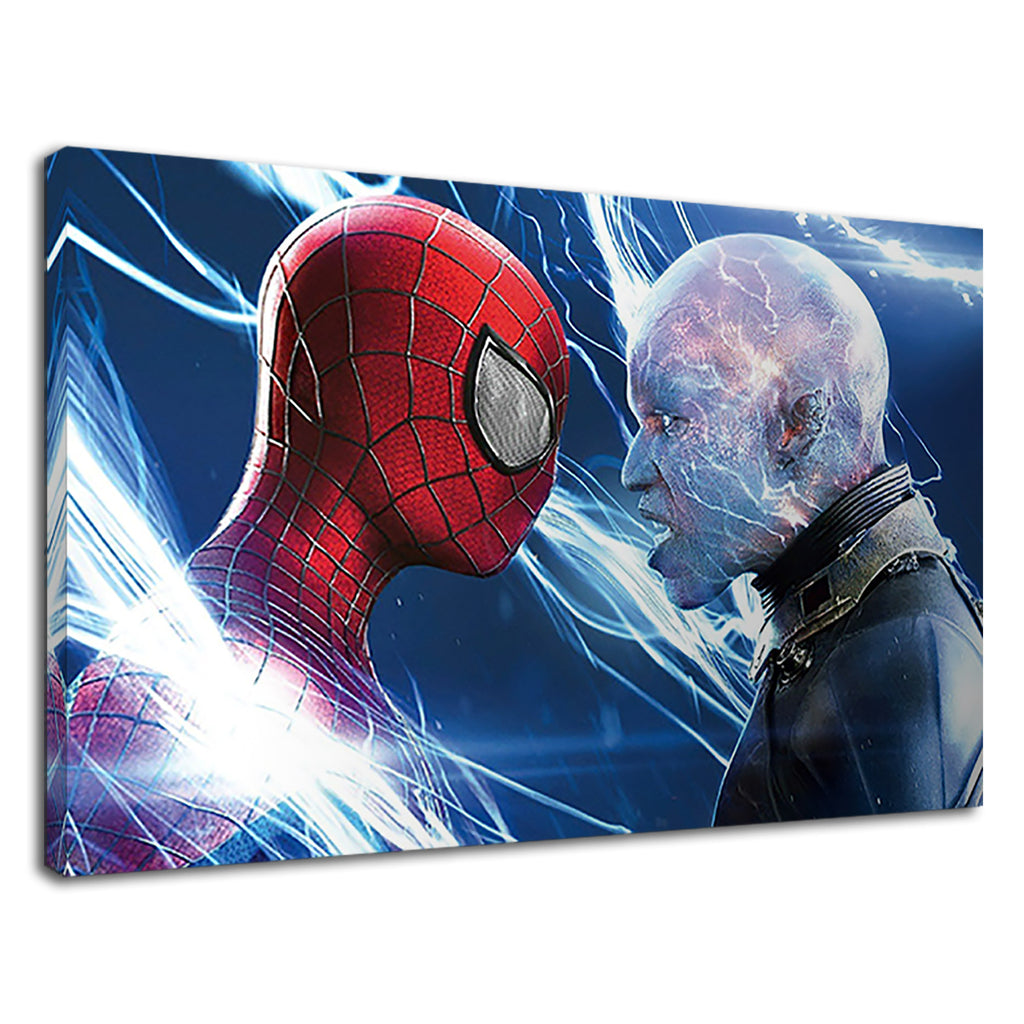The Amazing Spiderman Digital Art For Boys Bedroom