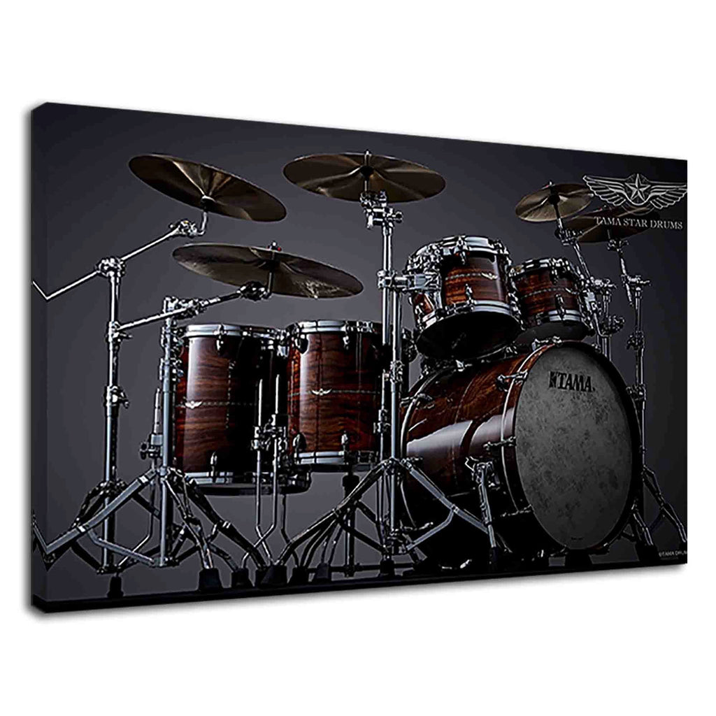 Cool Tama Star Drum Set For Musicians Bedroom