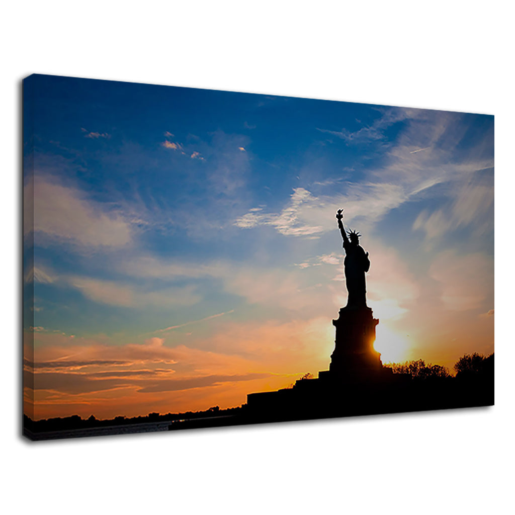 Statue Of Liberty At Sunrise Stunning  New Home