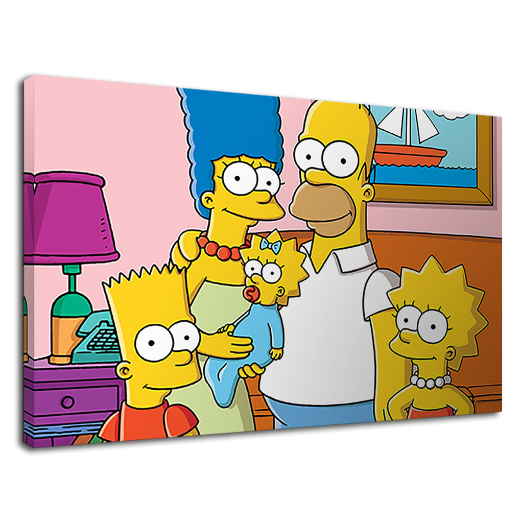 The Simpsons Happy Family For Kids Bedroom