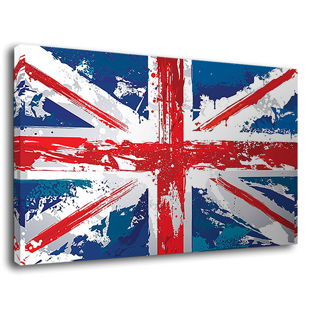 Union Jack England English Flag Grunge Distressed