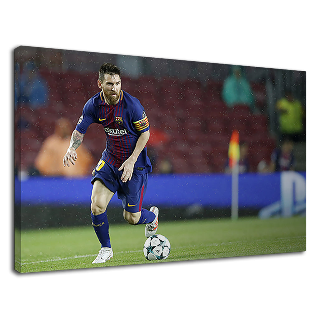Lionel Messi Beginning Of Magical Kick