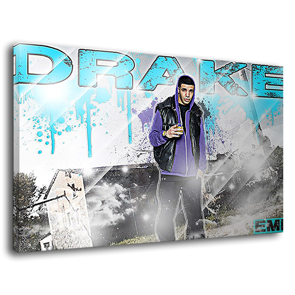 Drake Rapper Rnb Hip Hop Ovoxo Graffiti Rap Music