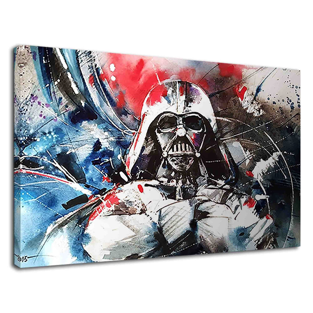 Darth Vader From Star Wars Digital Abstract Art