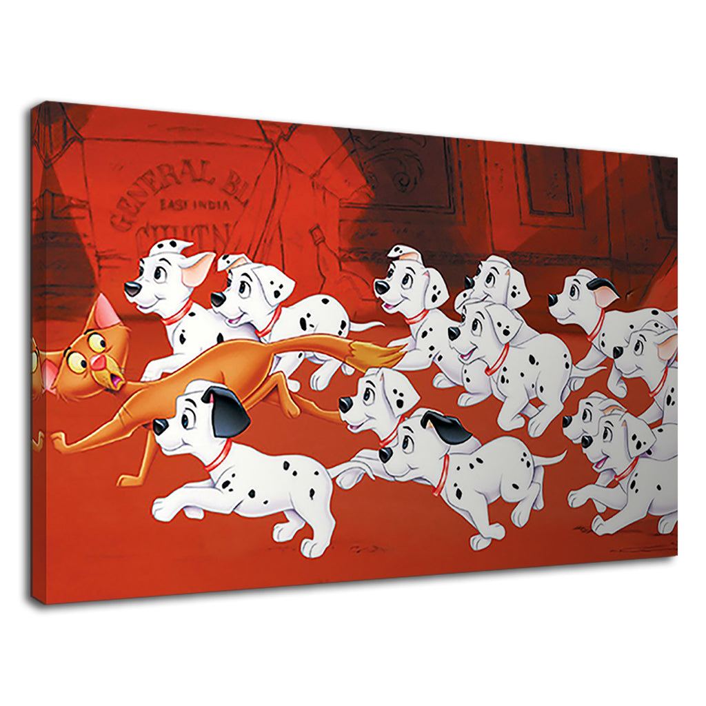 101 Dalmations Disney Cruella De Vil Kids Cartoon