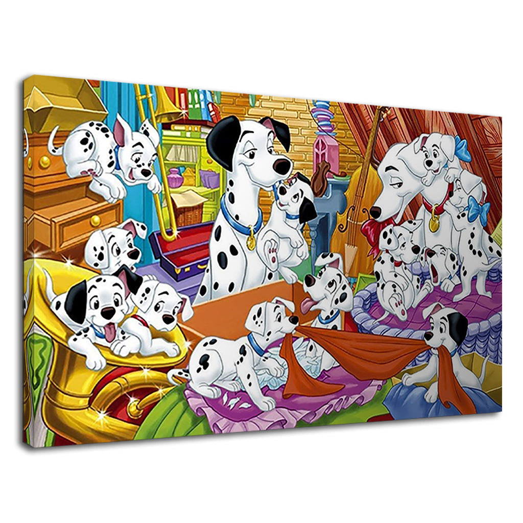 101 Dalmations Disney Cruella De Vil Childrens