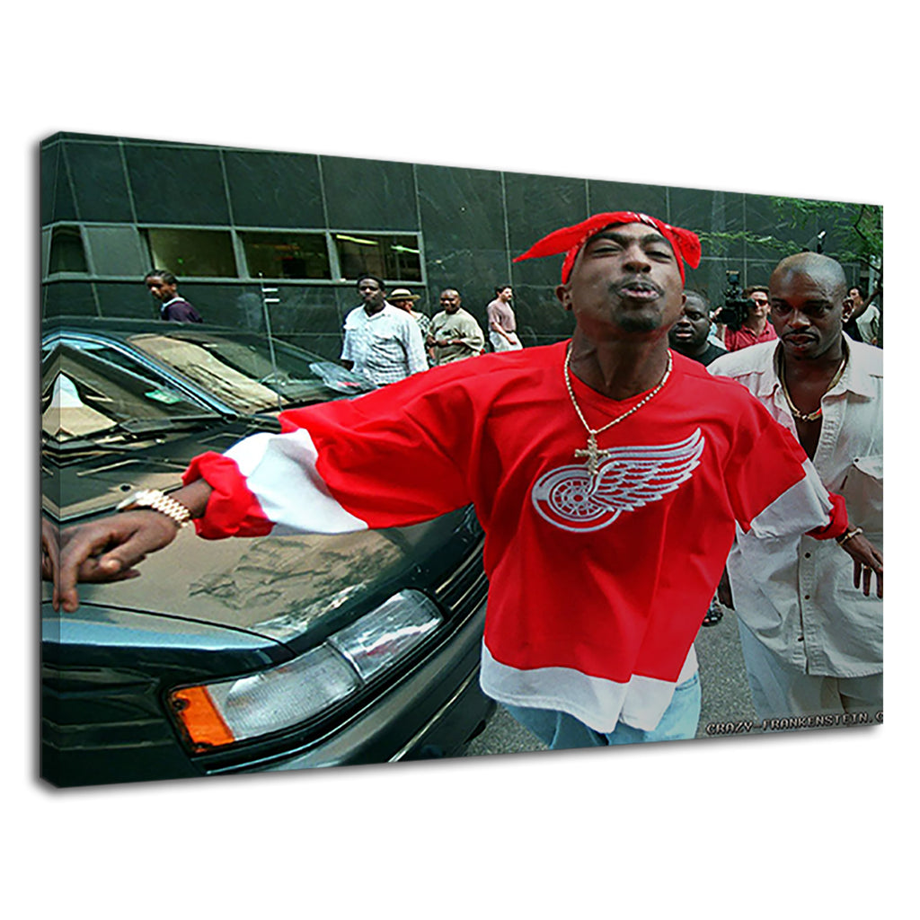 2Pac Tupac Shakur Outside Court Thug Life